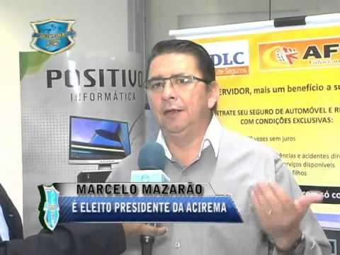 Mazar�o � eleito Presidente da ACIREMA