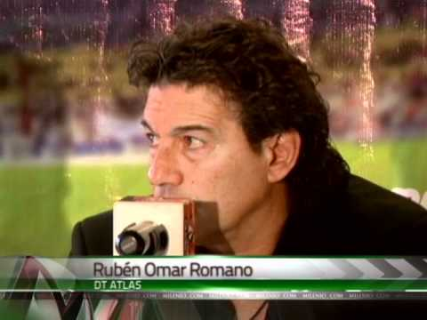 Presentación de Rubén Omar Romano como DT de Atlas