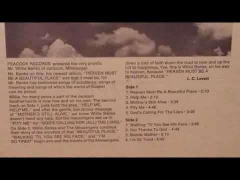God's Calling For The Liars - Willie Banks and the Messengers