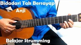 Video (Genjrengan) Bidadari Tak Bersayap Anji - Belajar Strumming Gitar Untuk Pemula MP3, 3GP, MP4, WEBM, AVI, FLV Februari 2018