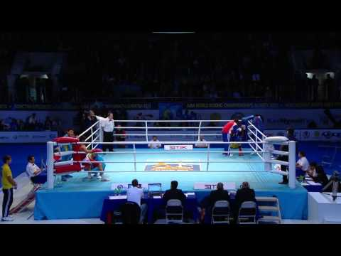 welter - Watch the full match of Daniyar YELEUSSINOV against Arisnoidys DESPAIGNE. Welcome to the International Boxing Association's official channel for live amateur...