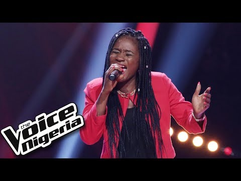 "Grace Udoh sings ""Be without you"" / Blind Auditions / The Voice Nigeria Season 2"