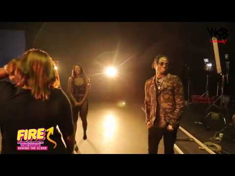 Diamond Platnumz -  Fire ( Behind The Scene part 1)