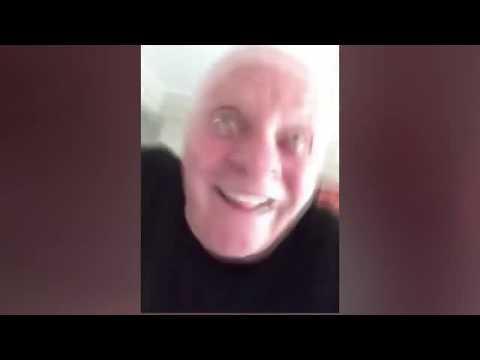 Anthony Hopkins sekoilee selfievideolla – Melkoinen Lecter