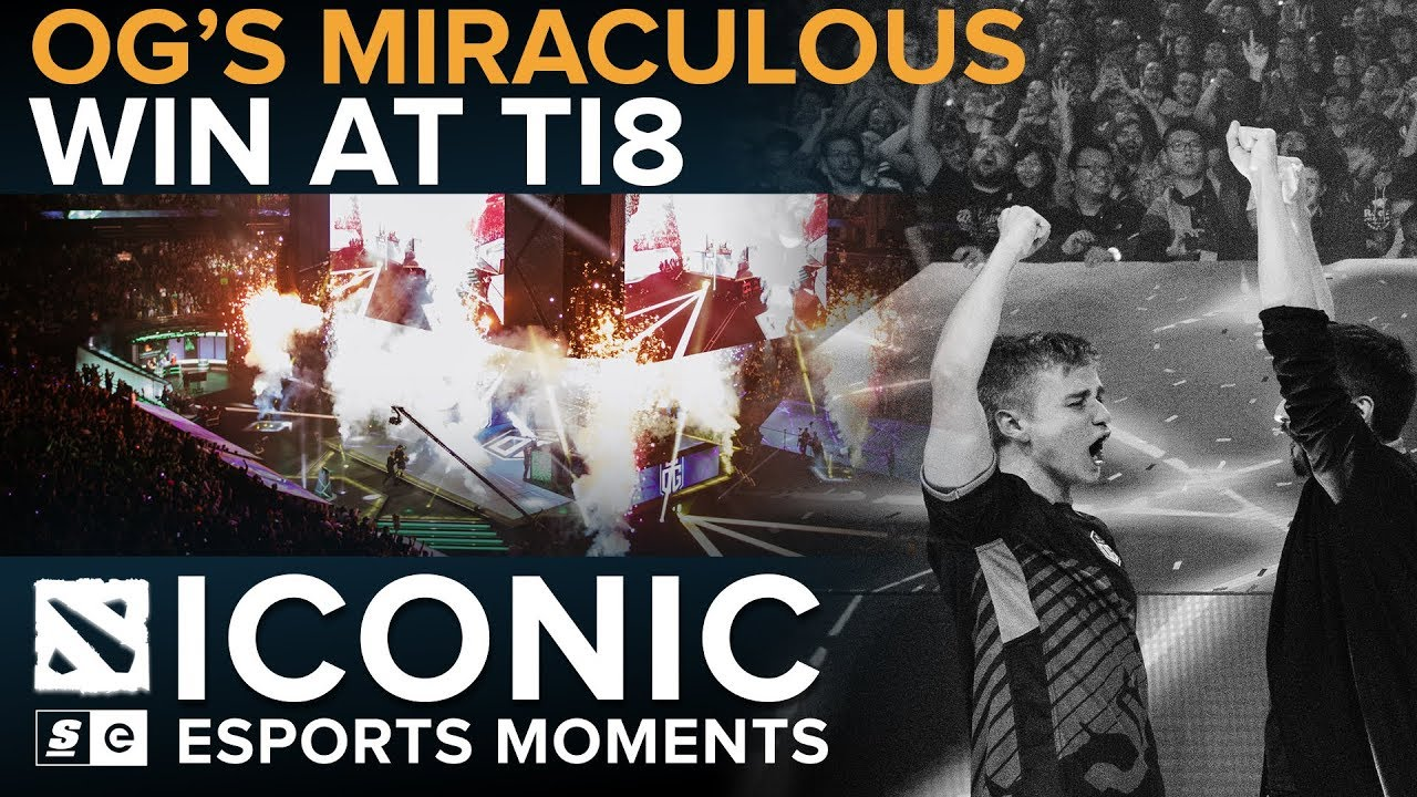 ICONIC Esports Moments: OG's Miraculous Win at TI8 - YouTube