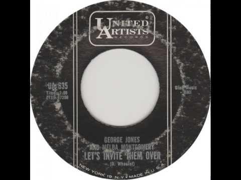 "George Jones and Melba Montgomery - ""Let's Invite Them Over"""