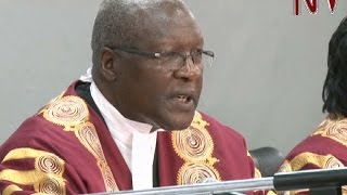 Chief Justice Bart Katureebe spoke tough during the pre-hearing conference of the presidential election petition filed by former presidential candidate Amama...