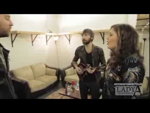 BEHIND THE SCENES WITH LADY A
