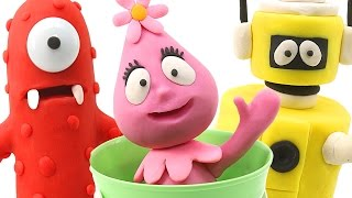 Yo Gabba Gabba Play-Doh video of Muno, Plex the Robot and Foofa. Stop Motion Animation Videos by DCTC! Our official pages!