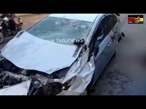 அதிவேகமாக வந்த காரில் மோதுண்ட எருதுகள்  -  Ambalantota Accident | Sooriyan News