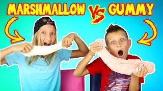 Video GUMMY vs MARSHMALLOW SLIME CHALLENGE!!! MP3, 3GP, MP4, WEBM, AVI, FLV Agustus 2018