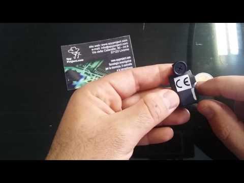 Telecamera piccolissima da nascondere registratore audio video