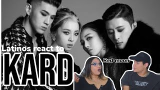 Video KARD 4th Mini Album 'RED MOON' _ M/V Reaction| Feature Friday download in MP3, 3GP, MP4, WEBM, AVI, FLV January 2017