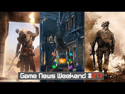 Игровые Новости — Game News Weekend #217 | (Cyberpunk 2077, Assassin's Creed Origins, CoD MW 4)