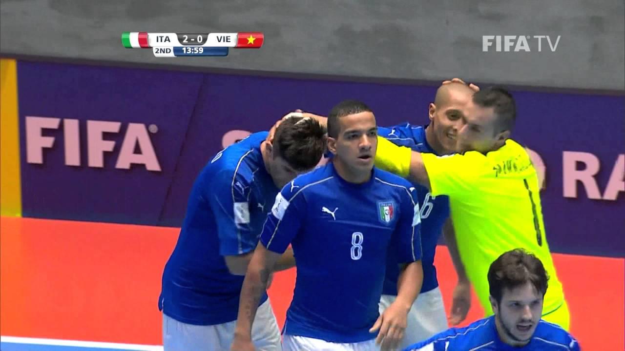 Match 30: Italy v Vietnam – FIFA Futsal World Cup 2016