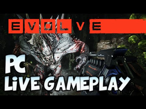 open - Evolve gameplay live! PC open lobby with subs. Hunting monster 4v1 Next video: COMING SOON SUBSCRIBE Previous: Recommended: ▽ More Info Below ▽ Thanks to Matt for hooking me up!