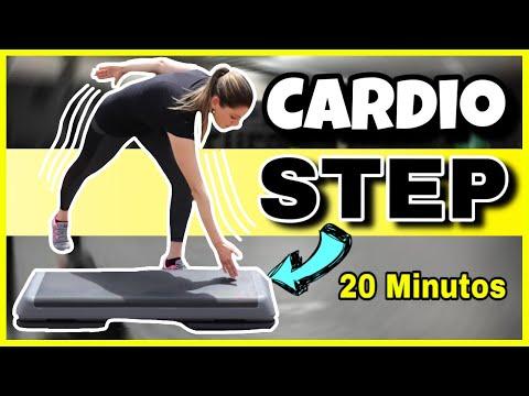 Dietas para adelgazar - Rutina para ADELGAZAR RAPIDO  Cardio Step 20 Minutos  NatyGlossGym