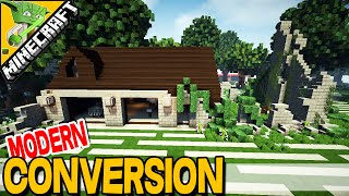 Modern House Conversion - Minecraft inspiration with Keralis
