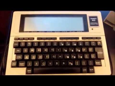 Tandy TRS-80 Model 102