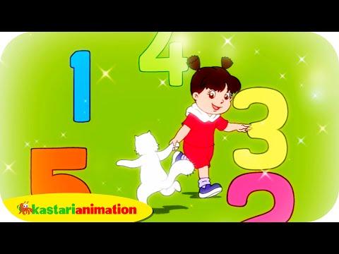 AYO BERHITUNG - Lagu Anak Indonesia - HD   Kastari Animation Official