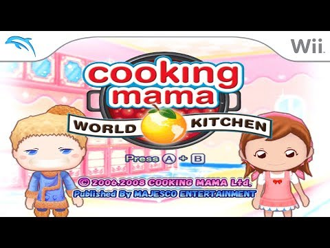 Cooking Mama: World Kitchen | Dolphin Emulator 5.0-9610 [1080p HD] | Nintendo Wii