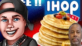 Free pancakes ! Today ! Plus Ben Carson is an idiot