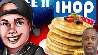 Free pancakes ! Today ! Plus Ben Carson is an idiot