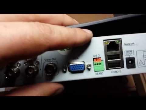 DVR USB 4 CANALI DA REMOTO CELLULARE H264 CCTV - VIDEOSORVEGLIANZA D1 LAN