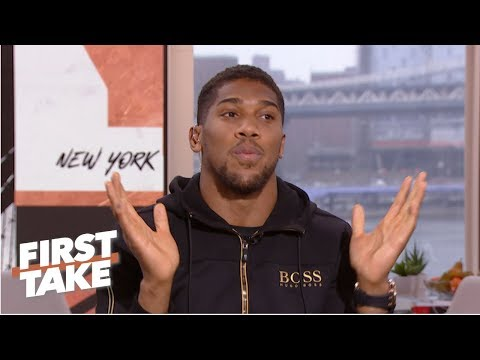 Anthony Joshua Not Shying Away From Fighting Deontay Wilder Or Tyson Fury | First Take