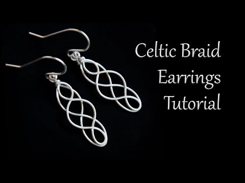 Celtic Braid Dangle Earrings Tutorial - Easy And Beginner Friendly