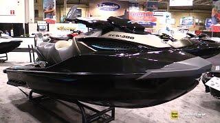 6. 2016 Sea Doo GTX S 155 Jet Ski - Walkaround - 2016 Toronto Boat Show