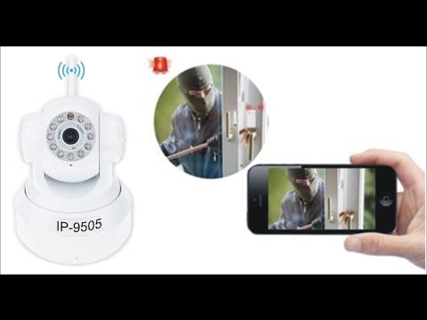 Video test chất lượng camera ip wifi hồng ngoại ip9505