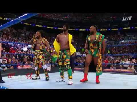 The New Day vs The Usos - Tag Team championship - WWE Fastlane.
