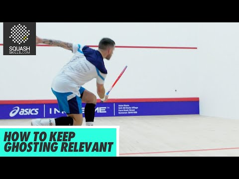 Squash Tips: How To Keep Ghosting Relevant with Joey Barrington and Peter Creed