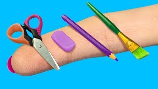 14 DIY Barbie School Supplies And Crafts