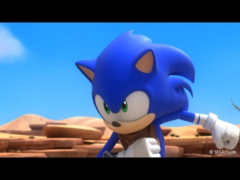 Battle - Sonic takes on the evil doctor Robuttnik in a fight with friends.