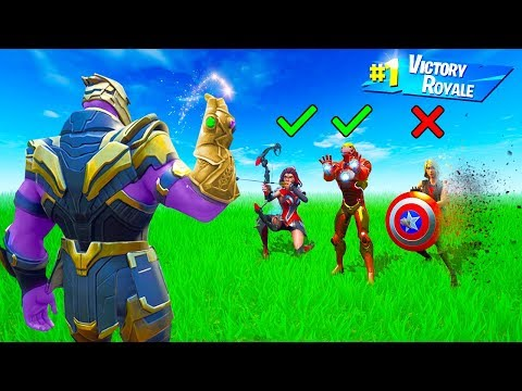 THANOS SAYS vs. The AVENGERS!