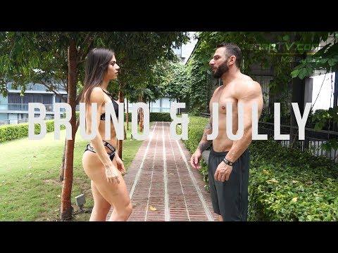 Bruno Colossus & Jully Menezes Photoshoot