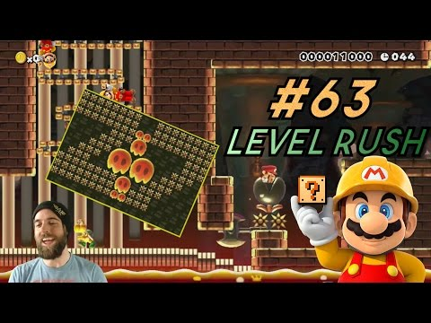 Touch Those Spikes, Please!   Super Mario Maker   Level Reaction Ep. 63 (видео)