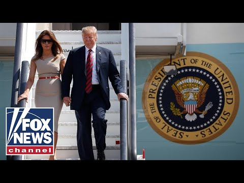 President Trump makes waves on UK visit