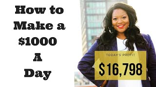 6. How to Make $1,000 a Day in Stocks with Teri Ijeoma