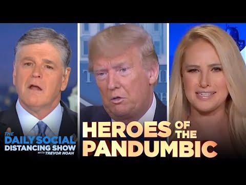 Saluting the Heroes of the Coronavirus Pandumbic   The Daily Show