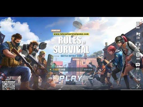吃雞手機遊戲《終結者2 審判日 Rules of Survival 中文版》玩法與攻略教學!