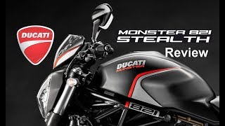 9. Upcoming DUCATI MOSNTER 821 Stealth || Review || 2019