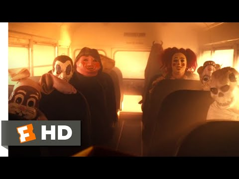 Trick 'r Treat (2007) - School Bus Massacre Scene (5/9) | Movieclips