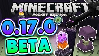 MCPE 0.17.0 GAMEPLAY! The 1.0 ENDER UPDATE Minecraft Pocket Edition