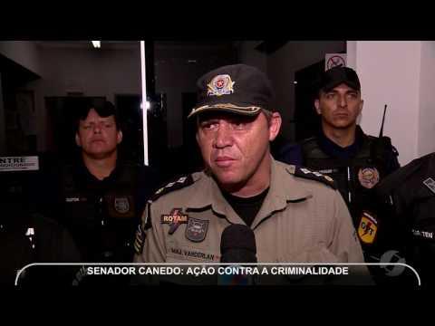 JMD (12/04/17) - Polícia faz operação em Senador Canedo