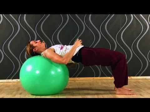 Core Fitness mit dem Gymnastikball - Phase 1