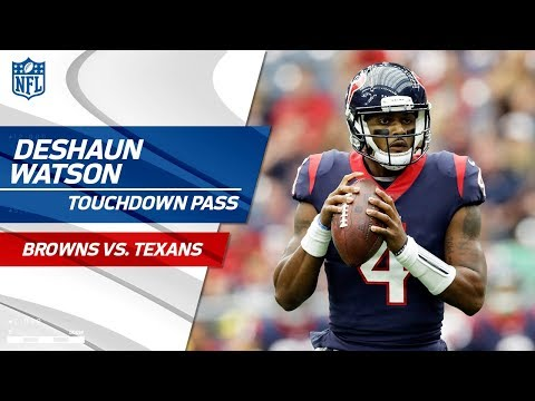 Video: Deshaun Watson's Huge TD Pass to Will Fuller | Browns vs. Texans | NFL Wk 6 Highlights