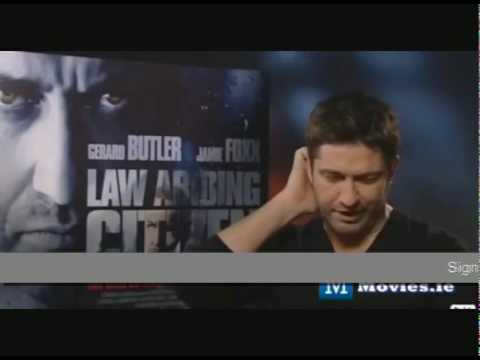 moviesireland - http://www.gerardjamesbutler.co.uk Gerard Butler interview on Law abiding citizen movies ireland.
